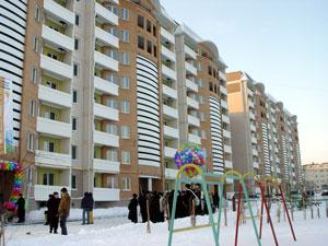 Балабаново, торжественная сдача жилого комплекса